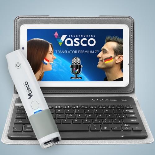 "Vasco Translator Premium (7"") mit Tastatur + Scanner"